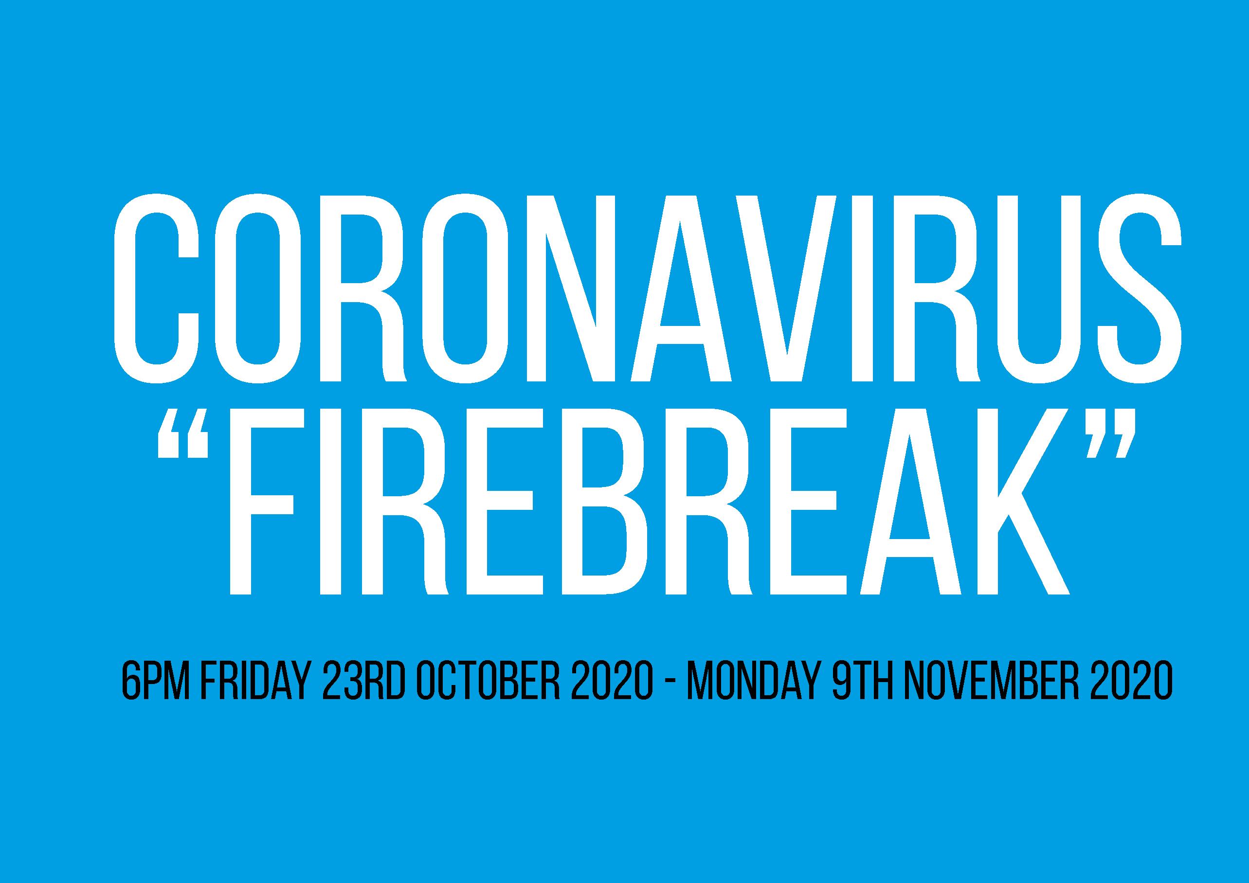"""""""Firebreak"""" Lockdown"""