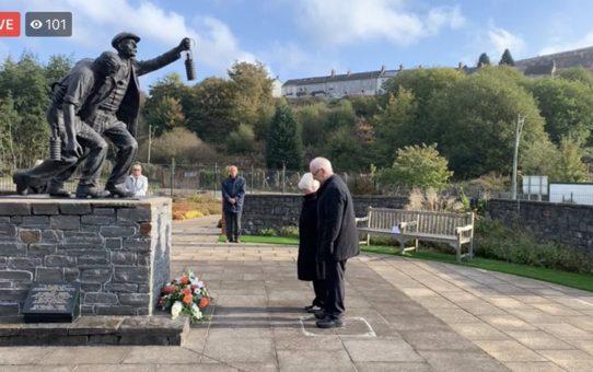 Senghenydd Remembered – Memorial Service 14th October 2020 Facebook Live