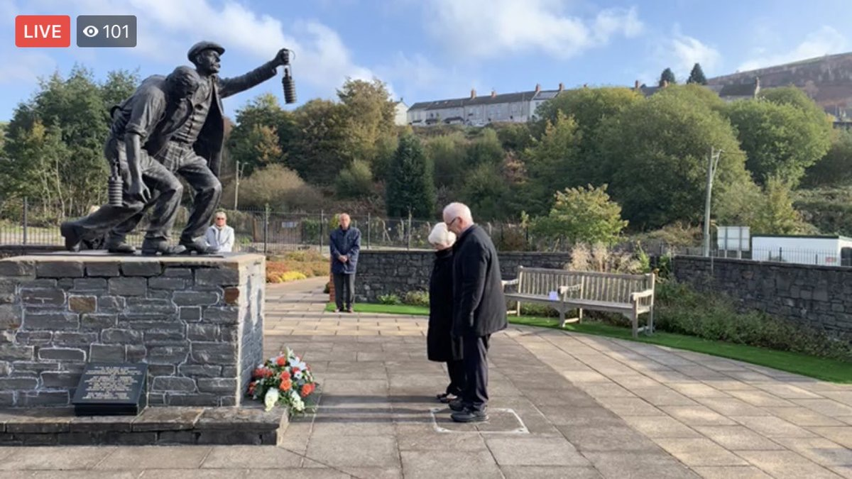 Senghenydd Remembered - Memorial Service 14th October 2020 Facebook Live
