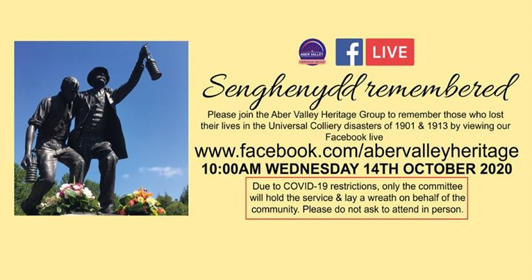 Senghenydd Remembered - Facebook Live memorial service