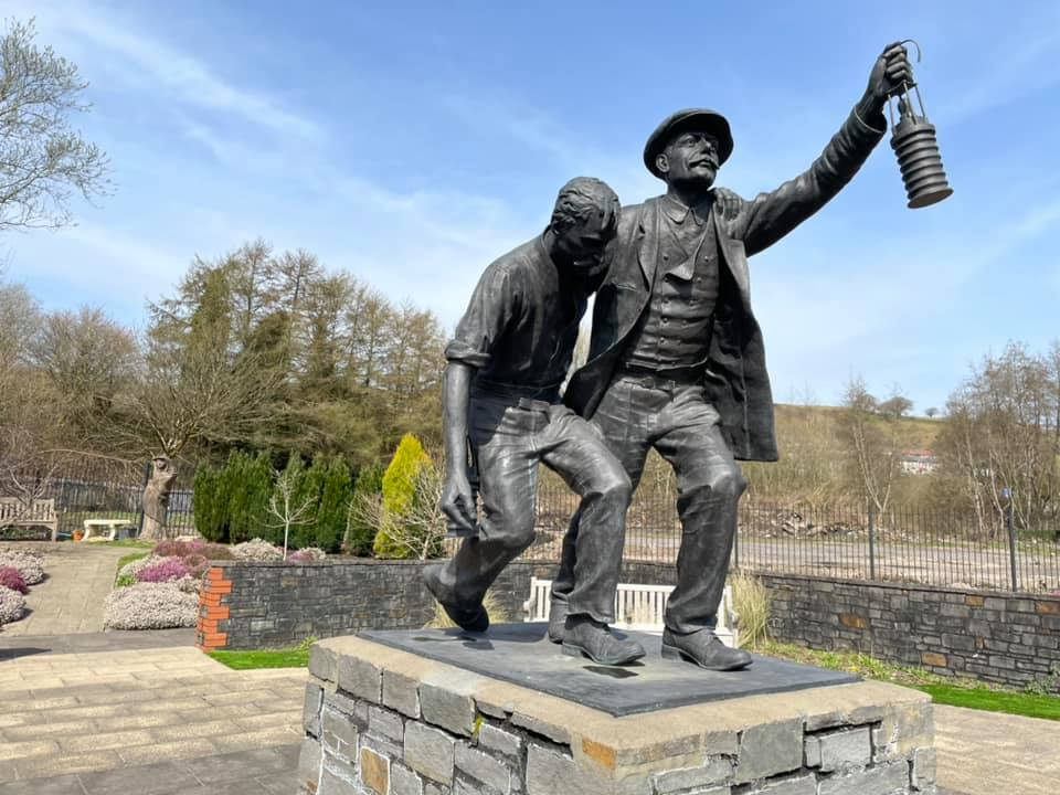Welsh National Mining Memorial and Universal Colliery Memorial Garden to re-open