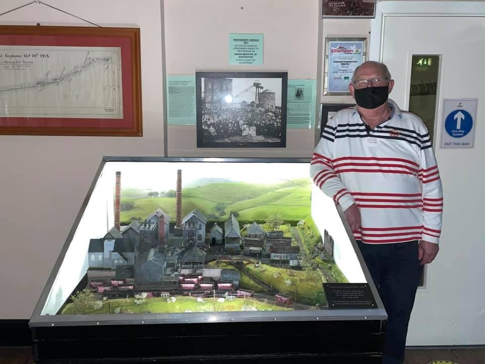 New model at the museum